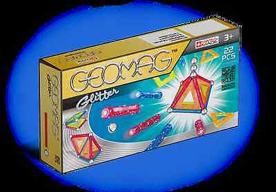 Geomag Panels Glitter 22pcs - Kids Toy - Presents and Gifts for Children