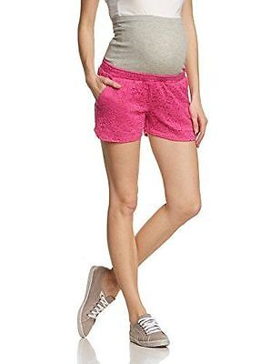 Mamalicious Maternity 'mlsica' Rose Lace Front Shorts All Sizes Bnwt Rrp £35