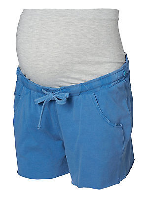 Mamalicious Maternity 'mltaya' Blue Jersey Shorts All Sizes Bnwt Rrp £26