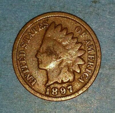 1897 Indian Head Cent   ID #52-86