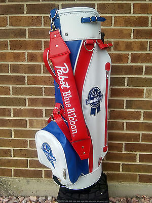 Pabst Blue Ribbon/Old Style Golf Bag Beer Sign..New in Box..