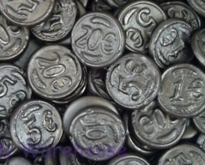 Dutch Licorice Coins/ 1kg
