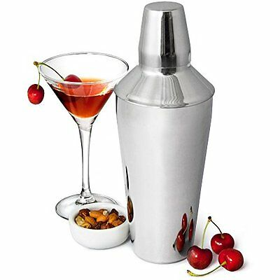 Bar@Drinkstuff Manhattan Cocktail Shaker In Acciaio Inox , 750Ml - 26 Centimetri