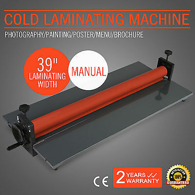"Plastifier À Froid 1000Mm 39"" Cold Laminator Laminating Vinyl Poster Remarkable"