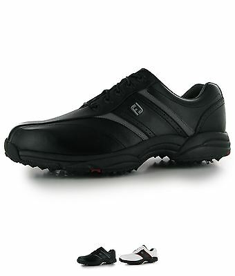 ORIGINALE Footjoy Softjoy Uomo Scarpe golf Black
