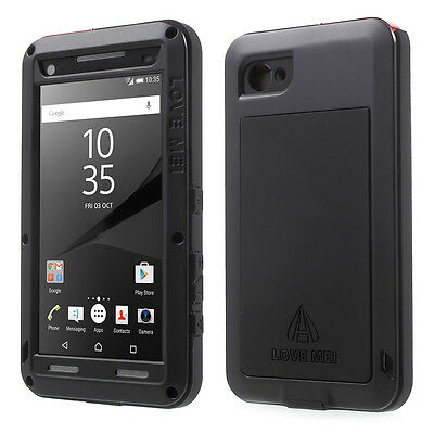 LOVE MEI Shockproof Dropproof Dustproof Case Cover for Sony Xperia Z5 Compact