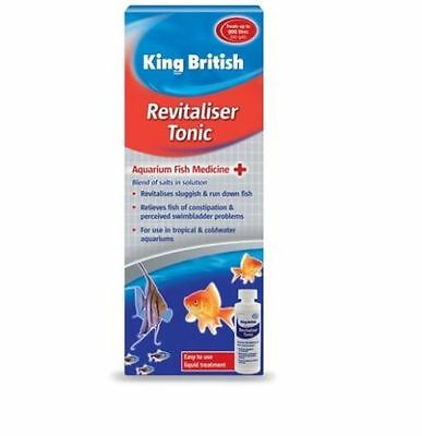 King British Revitaliser Control Fish Tank Aquarium Treatment 100ml