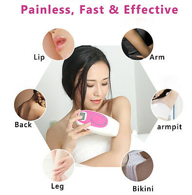 Home Face and Body Beauty Laser IPL Hair Removal Machine 300,000 Light Pulses DU