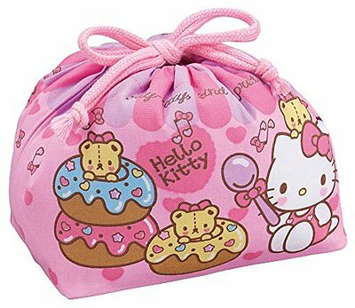 OSK KB-1 Hello Kitty DrawString lunch bag JAPAN