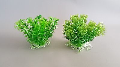 Aquarium  x1 Plant Fish Tank Gypsum Base Water 13cm Decoration Fish Decor