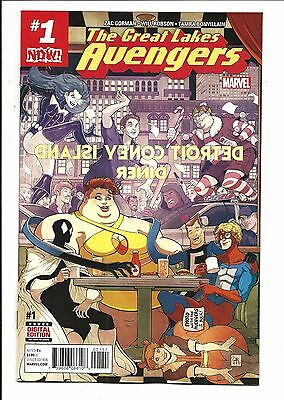 Great Lakes Avengers # 1 (Dec 2016), Nm New