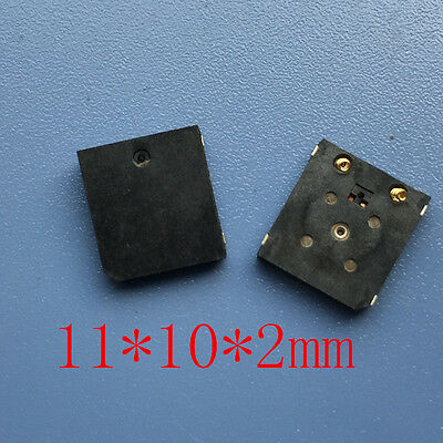 NEW Ultra-thin buzzer Electromagnetic type Passive SMD buzzer 11 * 10 * 2mm
