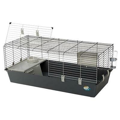 NEW Rabbit Guinea Pig Cage Folding Screen Cup Den Bottle WITH Food Bowl RACK Pet