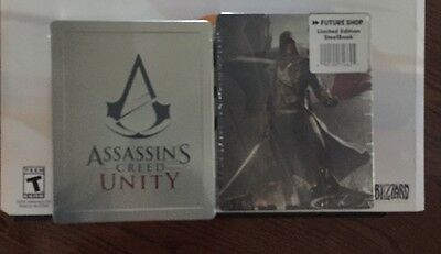 Assassin's Creed Unity Steelbook | Future shop exclusive | Xbox PS4 G2 No Game