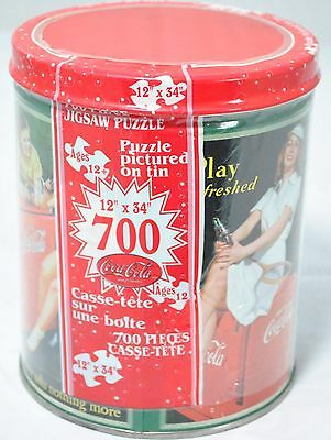 "Coca Cola 700 piece jigsaw puzzle 12""X34"" kids ages 12 and up unopened"