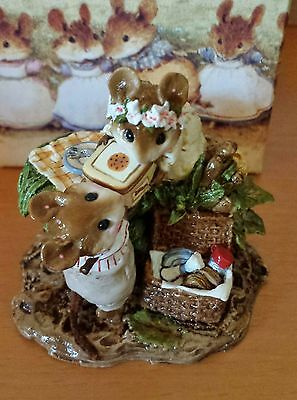 """Wee Forest Folk """"Picnic On The Riverbank"""" # FS-06, Mint"""
