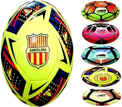 Barcelona Football FIFA specified Top Quality Soccer Ball  Size-5 - Spedster