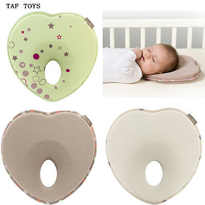 TAF Toys Newborn Baby Infant Memory Foam Pillow Prevent Flat Head Support Neck