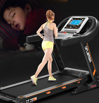 New Pro Folding Electronic Treadmill Gym Equipment Fitness Running Machine