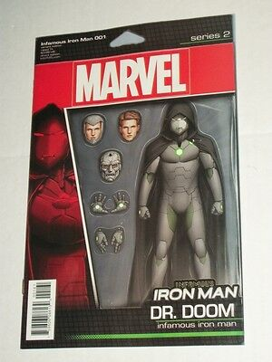 Marvel Now INFAMOUS IRON MAN #1 Action Figure Variant NM Dr Doom