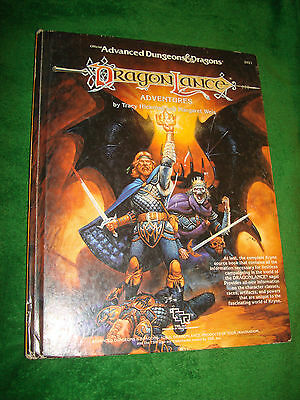 Advanced Dungeons & Dragons Dragon Lance #2021* Hardcover