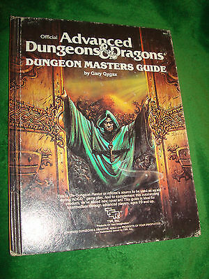 Advanced Dungeons & Dragons Dungeons  Masters Guide  # 2011 * Hardcover