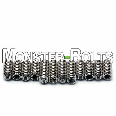 Saddle Bridge Height Screws Set - For Fender Stratocaster, Telecaster M3 / #4-40