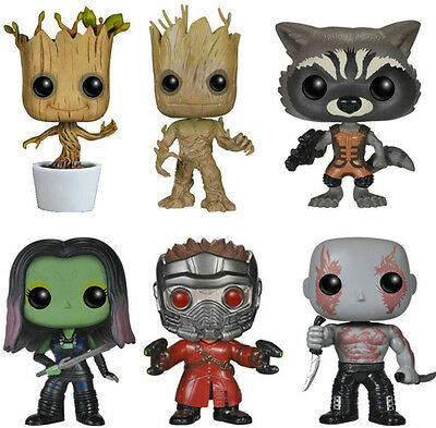 Funko POP Guardians of the Galaxy Groot  Vinyl Action Figure Toys Collection