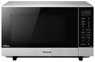 Panasonic NN-SF464M Flatbed Microwave - Stainless Steel:The Official Argos Store