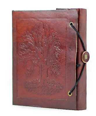 New Vintage Handmade Leather Journal, Tree of  Life Diary, Travel Journal