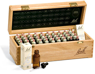 Nelsons,Genuine, Bach™Flower Remedies Full Wooden Box set. Slightly Imperfect