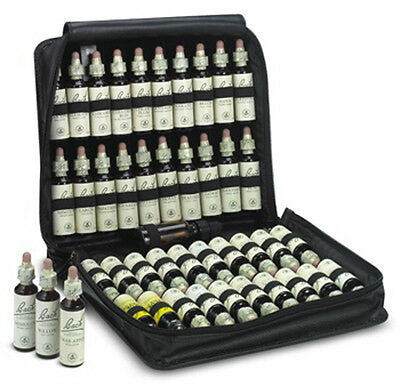 Nelsons,Genuine,Original Bach™Flower Remedy Set In Faux Leather Case. 40x20ml