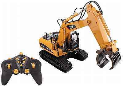 New RC Excavator Remote Construction Tractor Vehicle Truck Gift Toy Digger Car
