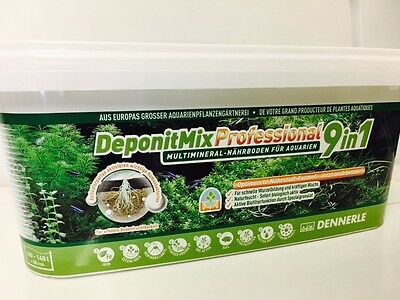 Dennerle DeponitMix Professional 9in1 - Aquarium Plant Nutrient Soil 4.8kg *
