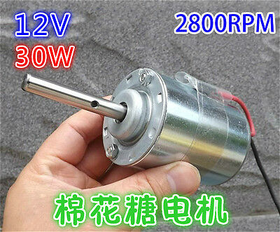 DC12V 2800RPM DC High Power Bürsten motor with Temperature Protection Switch