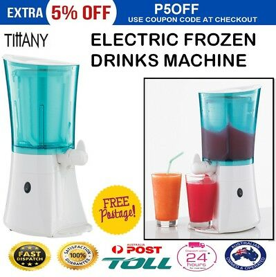 Slushie Slush Maker Frozen Drink Maker Cocktail Icy Ice Slurpee Mocktail Machine