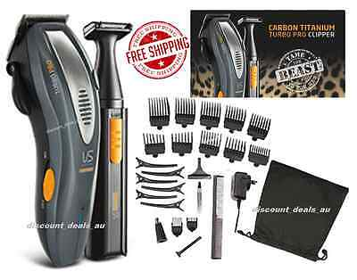 Grooming Kit Shaver Set Men Women 31Pcs Corded Cordless Rechargeable Trimmer NEW
