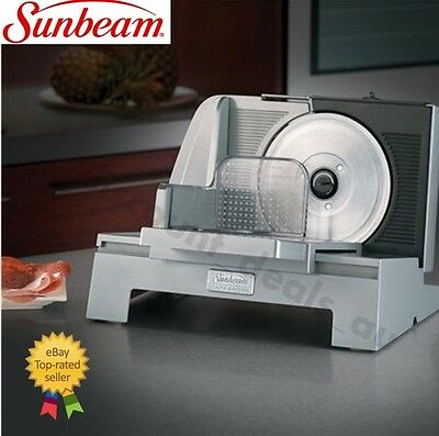 Sunbeam Food Slicer Commercial Deli Meat Slicer 17cm Cafe Electric Cheese Cutter