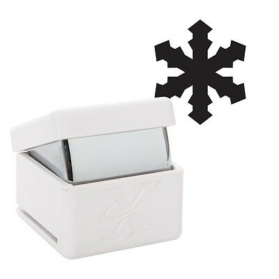 * SALE * Xcut Large Christmas Icy Snowflake Palm Punch | Cards | Scrapbooking A1