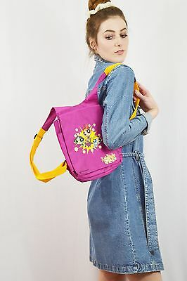 Vintage 00s 90s club kid Power Puff Girls Backpack Festival Bag