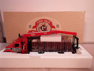 First Gear 1.34 scale  No 10-3504 Mack brick truck and Materials handler MB