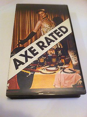 Axe Rated Skateboard Vid 1988 Limited Edition Extremely Rare VHS Powell Peralta