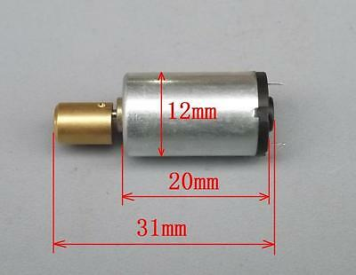 DC 1.5V Mini Round Small Vibration Motor Cupper Head Vibrator Motor for Toy Game