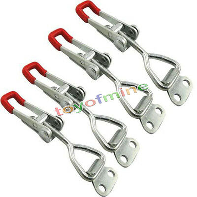 4 Pcs New Quick Metal Hold Holding Capacity Latch Hand Tool Toggle Clamp TMPG