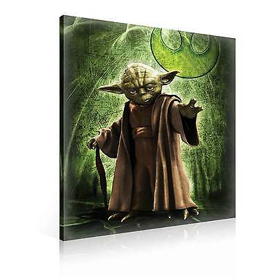 star wars meister yoda xl leinwand bilder wandbild ppd709fw eur 1 00 picclick de. Black Bedroom Furniture Sets. Home Design Ideas