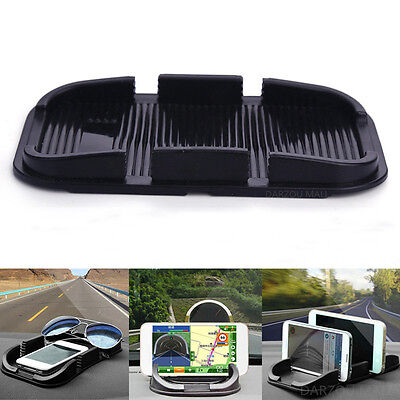 Car Anti Non Slip Pad Mat Skidproof Holder Stand For  Cell Phone iPhone GPS