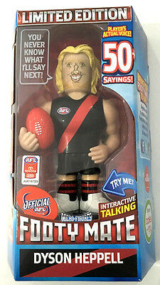 2016 Afl - Talking Footy Mate - Dyson Heppell Essendon New !!!