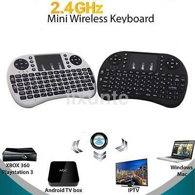 2.4G Wireless Mini Keyboard Air Mouse Qwerty Remote Touchpad Android TV BOX