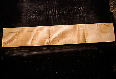 Flame Maple Neck Blank Figured - 705/120/46mm - Luthier Tone Wood (#510)