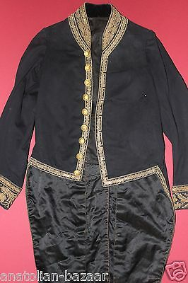 Very Rare Ottoman Militaria Uniform Excellent Ornament